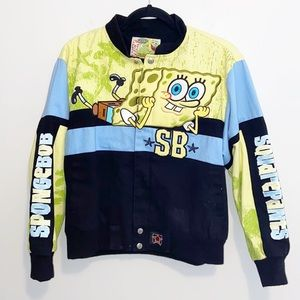 SpongeBob Squarepants Boys Jacket XLarge (11-12)